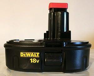 De-Walt DC9098 NiCd 18V Battery Pack, Black