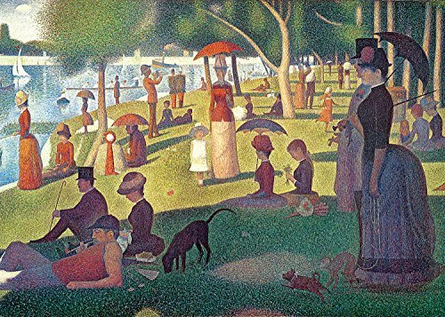 Tomax Sunday Afternoon on the Island of Grand Jatte 1000 Piece Seurat Mini Jigsaw Puzzle
