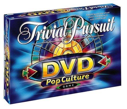 Trivial Pursuit POP Culture DVD Game by Milton Bradley (Trivial Dvd Pursuit Game)
