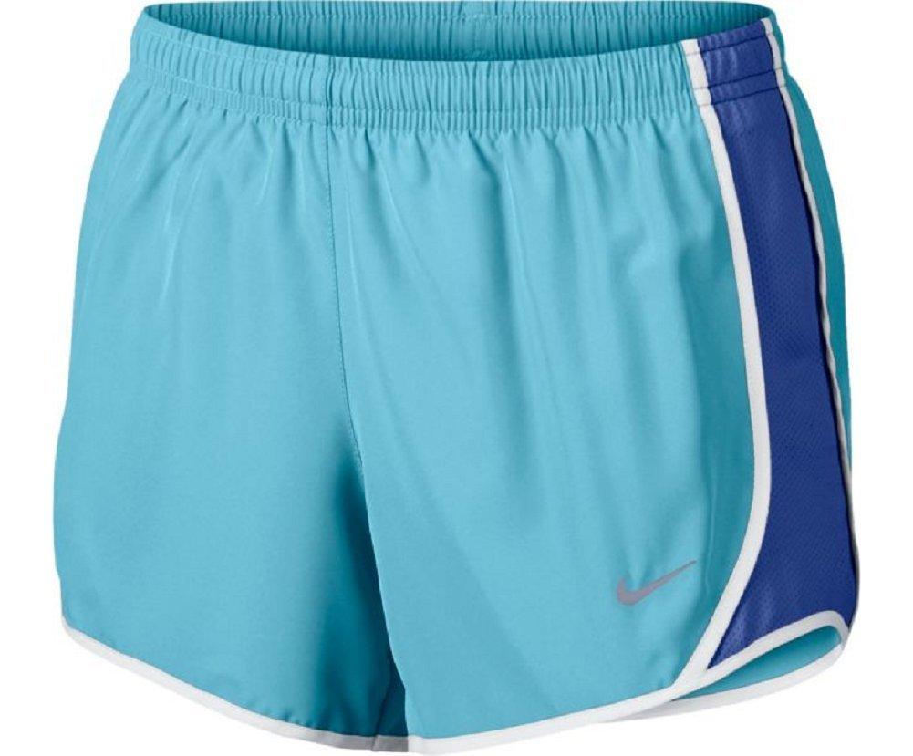 NIKE Girls Dry Tempo Running Shorts - Vivid Sky - 2T