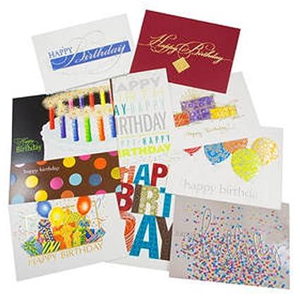 Amazon Jam Paper Blank Birthday Card Sets Happy Birthday