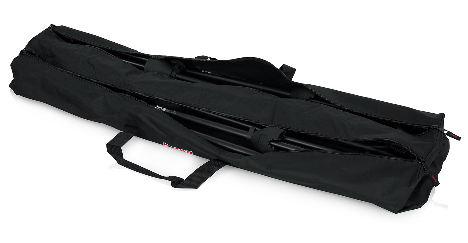 Gator Cases Dual Compartment Stand Carry Bag with 50'' Interior; Holds Speaker, Microphone or Lighting Stands (GPA-SPKSTDBG-50DLX) by Gator (Image #2)