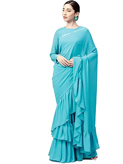 6a9f908557 Lajree Designer Saree For Women Party Wear Half Sarees Padmavati Silk Pallu  And Utsav Scut With Fancy Embroidery Work Half Sarees With Fancy Blouse And  ...