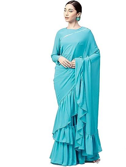 18b94cc8a Lajree Designer Saree For Women Party Wear Half Sarees Padmavati Silk Pallu  And Utsav Scut With Fancy Embroidery Work Half Sarees With Fancy Blouse And  ...