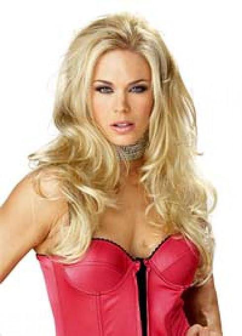 Wigs women long blonde Carnival trendy Carnival (peluca): Amazon.es: Juguetes y juegos