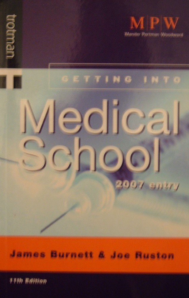 Getting into Medical School (Getting into Course Guides) pdf epub