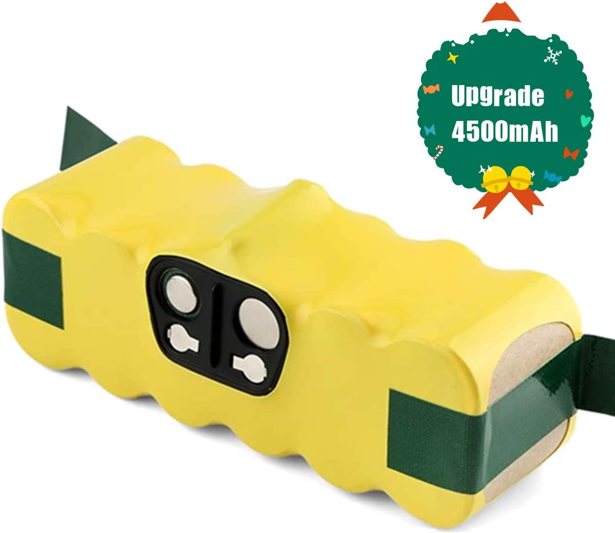 Upgraded 4.5Ah Ni-MH Battery Compatible with iRobot Roomba 14.4V R3 500 600 700 800 900 Series Robot Vacuum 510 530 531532 535 536 540 550 552 560 570 580 595 600 620 650 660 700 760 770 780 790 800 8