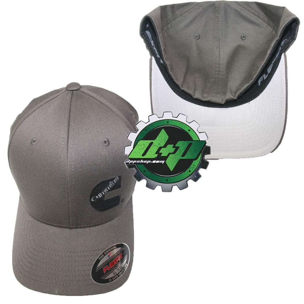 30a8669dbfe6c Amazon.com  Dodge Cummins Truck Diesel Cummings Flexfit Hat Ball Cap Fitted  Flex Fit l XL Dark Gray  Sports   Outdoors