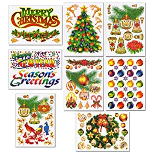 Christmas Window Clings Decals 118