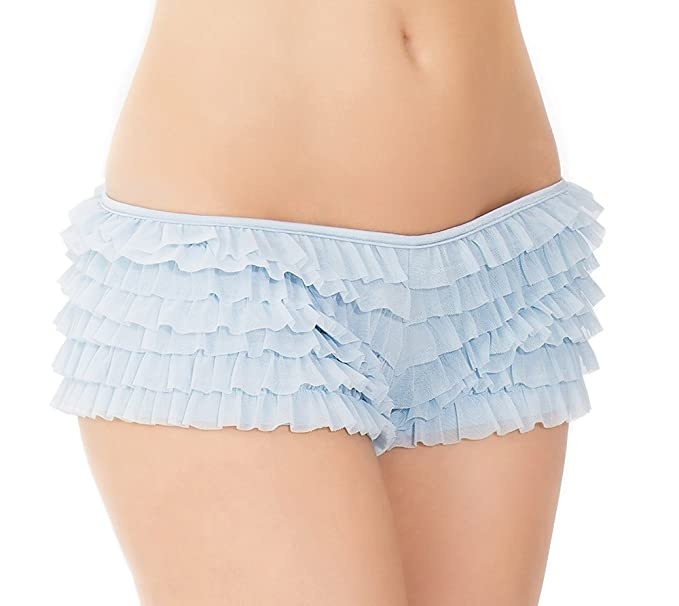 106ef617e42 Image Unavailable. Image not available for. Color  Coquette Women s Ruffled  Rhumba Booty Short ...