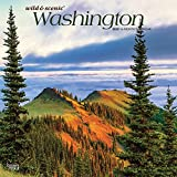 Washington Wild & Scenic 2020 12 x 12 Inch Monthly Square Wall Calendar, USA United States of America Pacific West Coast State Nature