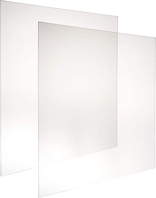 Amazon Com Skitement Ultra Transparent Uv Resistant Frame Grade Acrylic Plexiglass Clear Sheet Picture Frame Replacement 27x40 Inches 0 0625 1 16 Pack Of 2 Pcs