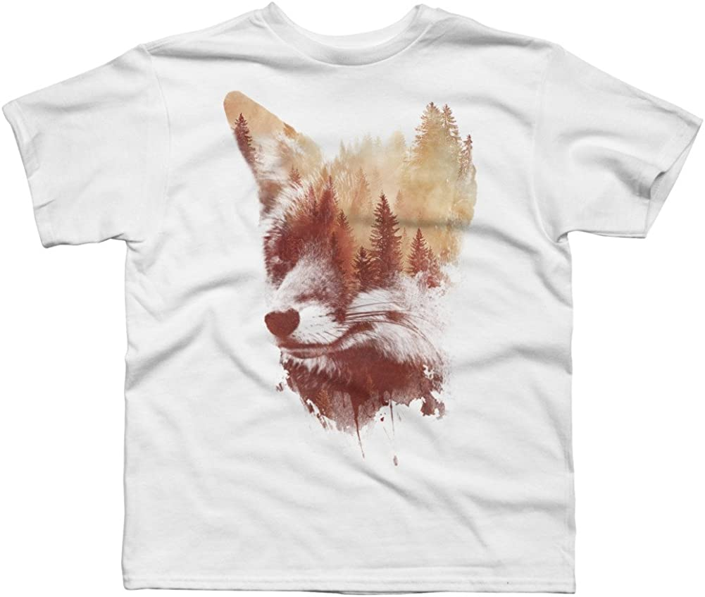 Design By Humans Blind fox Boys Youth Graphic T Shirt