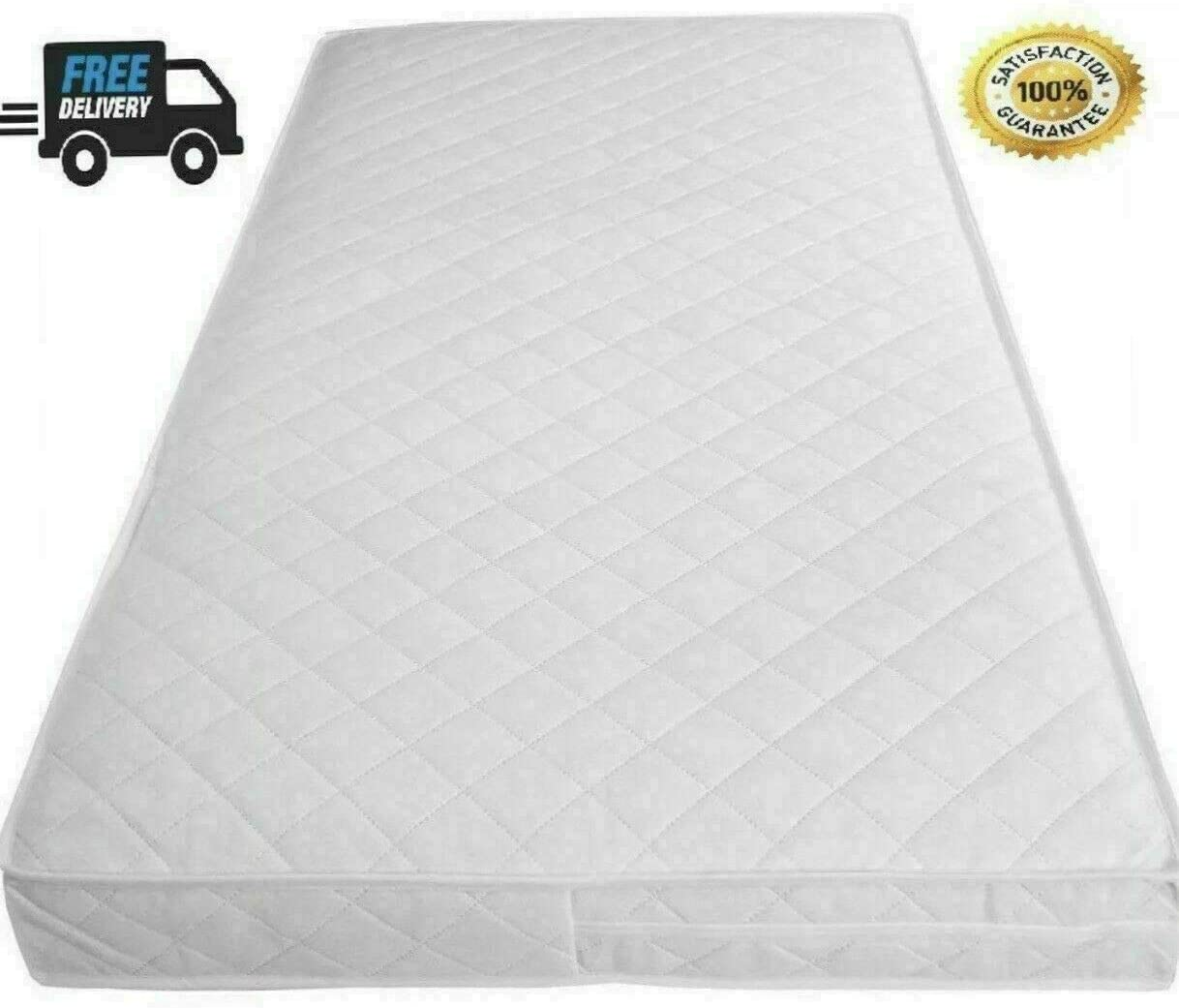 Made in England 120 x 60 x 13 Soft Cot Mattress 160 x 80 // 160 x 70 Guaranteed 24-48 Hour UK Mainland Postage