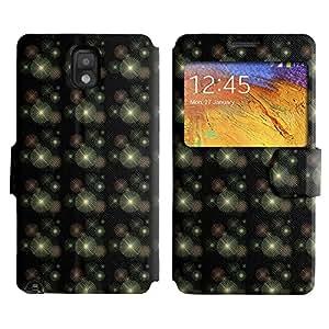 LEOCASE Funda Carcasa Cuero Tapa Case Para Samsung Galaxy Note 3 N9000 No.1007627