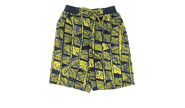 c707dfb146 Amazon.com: NIKE Mens Printed Volley Swim Trunks Yellow M: Sports & Outdoors