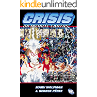 Crisis on Infinite Earths book cover