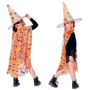 Disfraz de Halloween Wankd 2019, disfraz de bruja con sombrero ...
