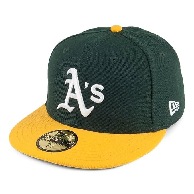 Gorra de béisbol 59FIFTY On Field Oakland Athletics de New Era - Home: Amazon.es: Ropa y accesorios