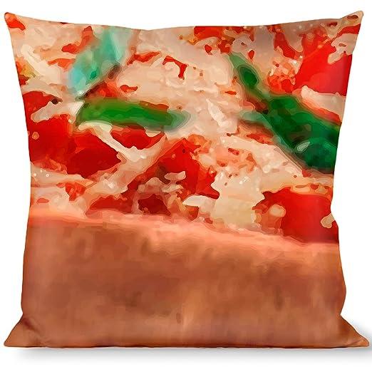 Buckle Down Cojín de plumón con Hebilla, Color Pizza: Amazon ...