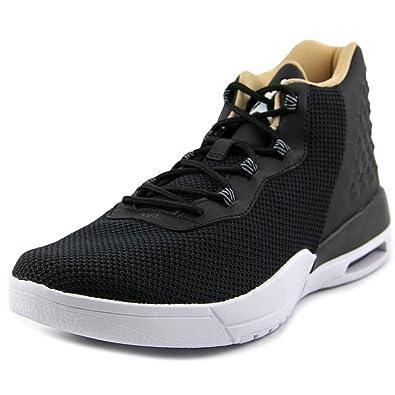 super popular c5459 828fb Nike Herren Jordan Academy BG Basketballschuhe, Black (Schwarz  (Schwarz Weiß-Kühles