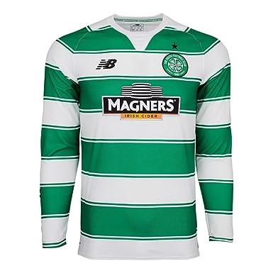 77934b62b Amazon.com  New Balance Celtic FC Home Long Sleeve Soccer Stadium ...