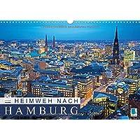 Heimweh nach Hamburg (Wandkalender 2015 DIN A3 quer): Hamburg: Hansestadt an der Elbe (Monatskalender, 14 Seiten) (CALVENDO Orte)