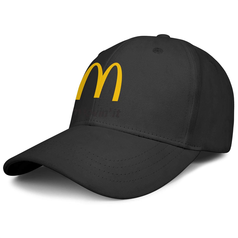 Unisex Classic Baseball Cap McDonald's-iâ€m-loveinâ€it- Plain Professional All Cotton Trucker Cap by NAKHFBVi