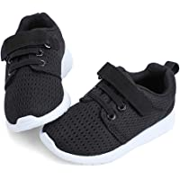 Amazon Price History for:hiitave Toddler Shoes Boys Girls Lightweight Breathable Sneakers Washable Strap Athletic Tennis Shoes for Running…