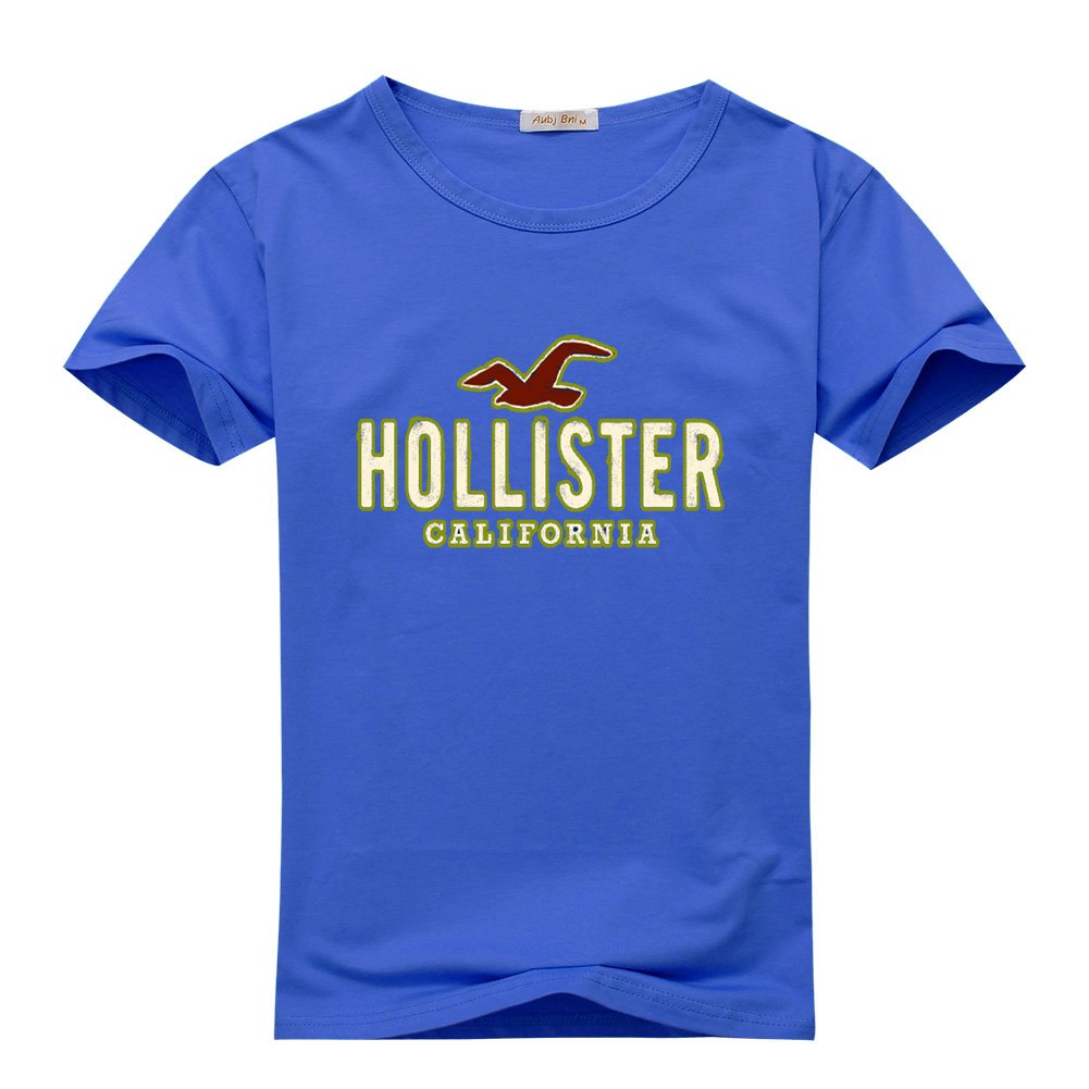 New Hollister Logo For 2016 Mens Printed Short Sleeve tops t shirts: Amazon.es: Ropa y accesorios