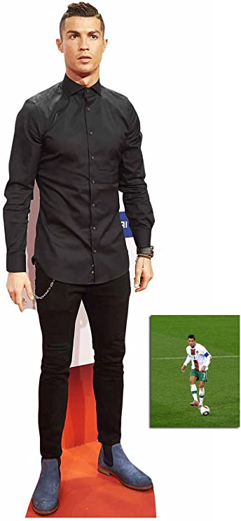 Lionel Messi Cardboard Cutout Bow Tie Standee. lifesize