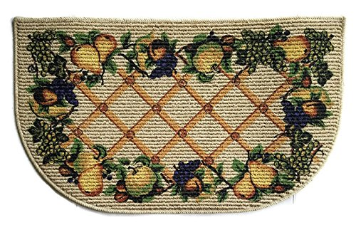 Mainstay Fruit Kitchen Rug 18 x 30 inches