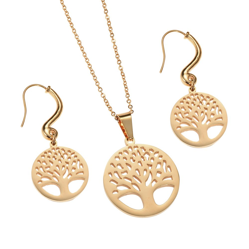 Rose Gold Tree of Life Set