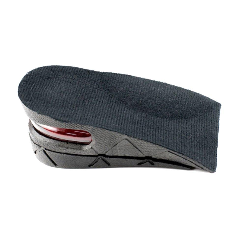 negro rosenice Unisex ajustable de 2/capas Altura aumenta agujero brocas tal/ón Patines 1/par