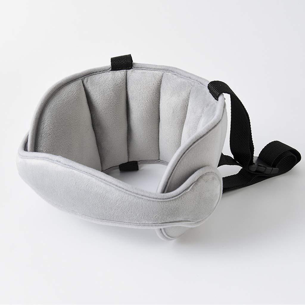 Bande d' appui-tê te ré glable pour siè ge de voiture pour enfant, appui-tê te, solution confortable de sommeil sé curitaire, ceinture d' appui-tê te rose appui-tête solution confortable de sommeil sécurit