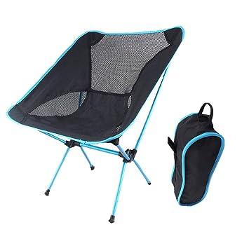 Silla De Camping Compacto Ultraligero Portátil Plegable ...