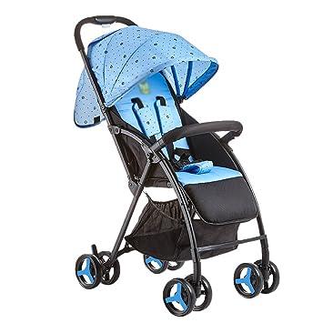 Cochecito Anna Sistema del Recorrido bebé Carro de bebé Multifuncional Carritos de bebé Luz Puede Sentarse