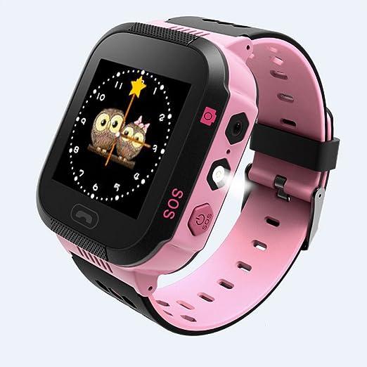 2 opinioni per Smart Watch per bambini studenti Safe GPS Tracker SOS chiamata telecomando