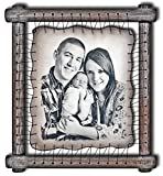 Pyrography Wall Art Custom Illustration Family Portrait Wall Decor Wedding Portrait Painting Wooden Gift Wood Burning Home Decoration - RARE Hand Drawn Pyrography Technique