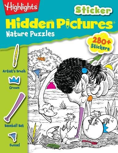 Nature Puzzles (Highlights™ Sticker Hidden Pictures®)