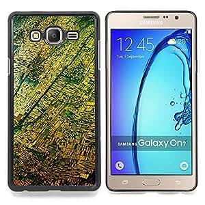Stuss Case / Funda Carcasa protectora - Vista aérea Fotografía Amarillo - Samsung Galaxy On7 O7
