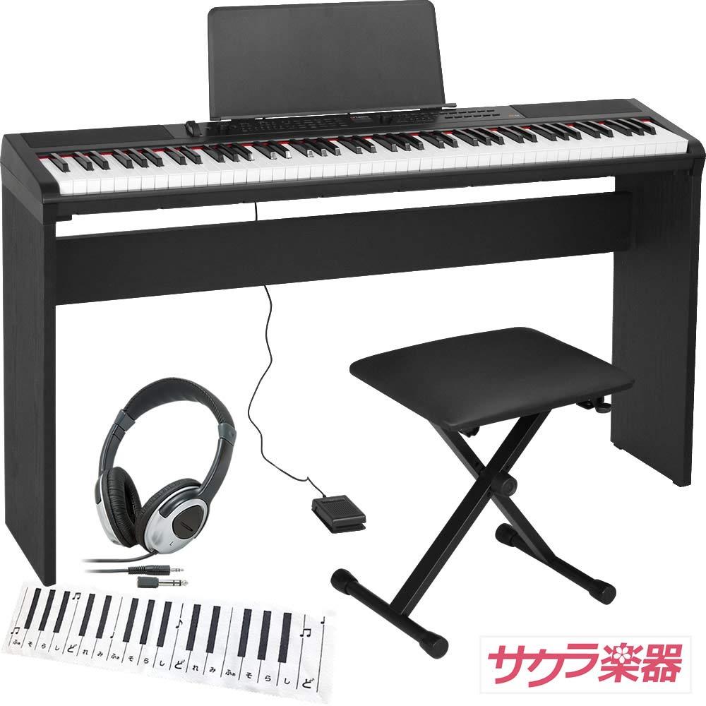 最上の品質な Artesia アルテシア デジタルピアノ(電子ピアノ) 88鍵 PE-88 88鍵/BK ブラック サクラ楽器オリジナルセット[純正木製スタンドイスヘッドフォンクリーニングクロス]PE-88 Artesia アルテシア/BK 純正スタンドセットB07M9V6JMQ, スーツケース専門店Koffer Garage:5fea911b --- a0267596.xsph.ru
