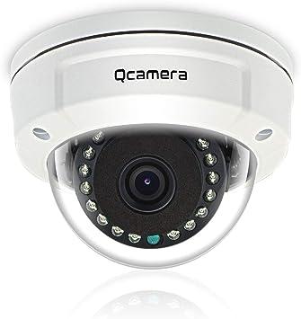 Opinión sobre Q-camera Security Dome Camera 5MP 4 en 1 TVI/CVI/AHD/CVBS 1/2.5