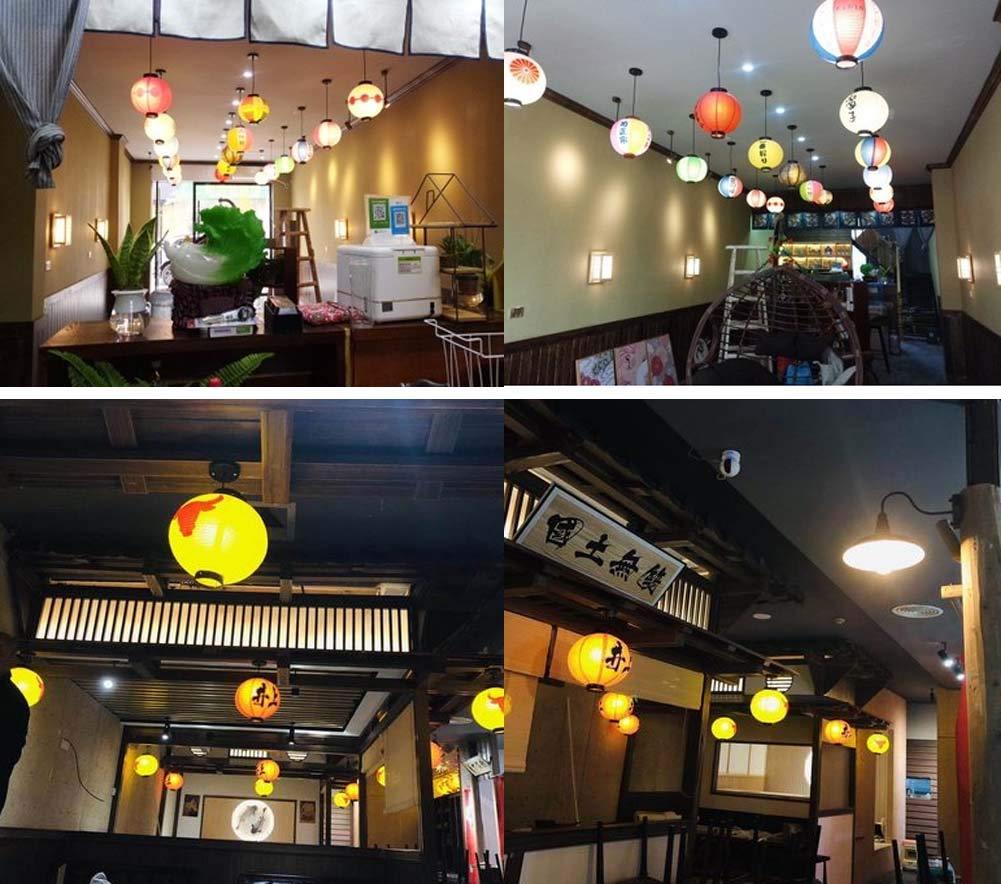 East Utopia Durable Paper Lantern Japanese Style Restaurant Hanging Decor P