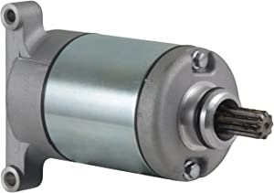 Rareelectrical New Starter Compatible With Yamaha ATV Yfm550 Yfm700 Grizzly By Part Numbers 28P-81890-00-00 28P818900000