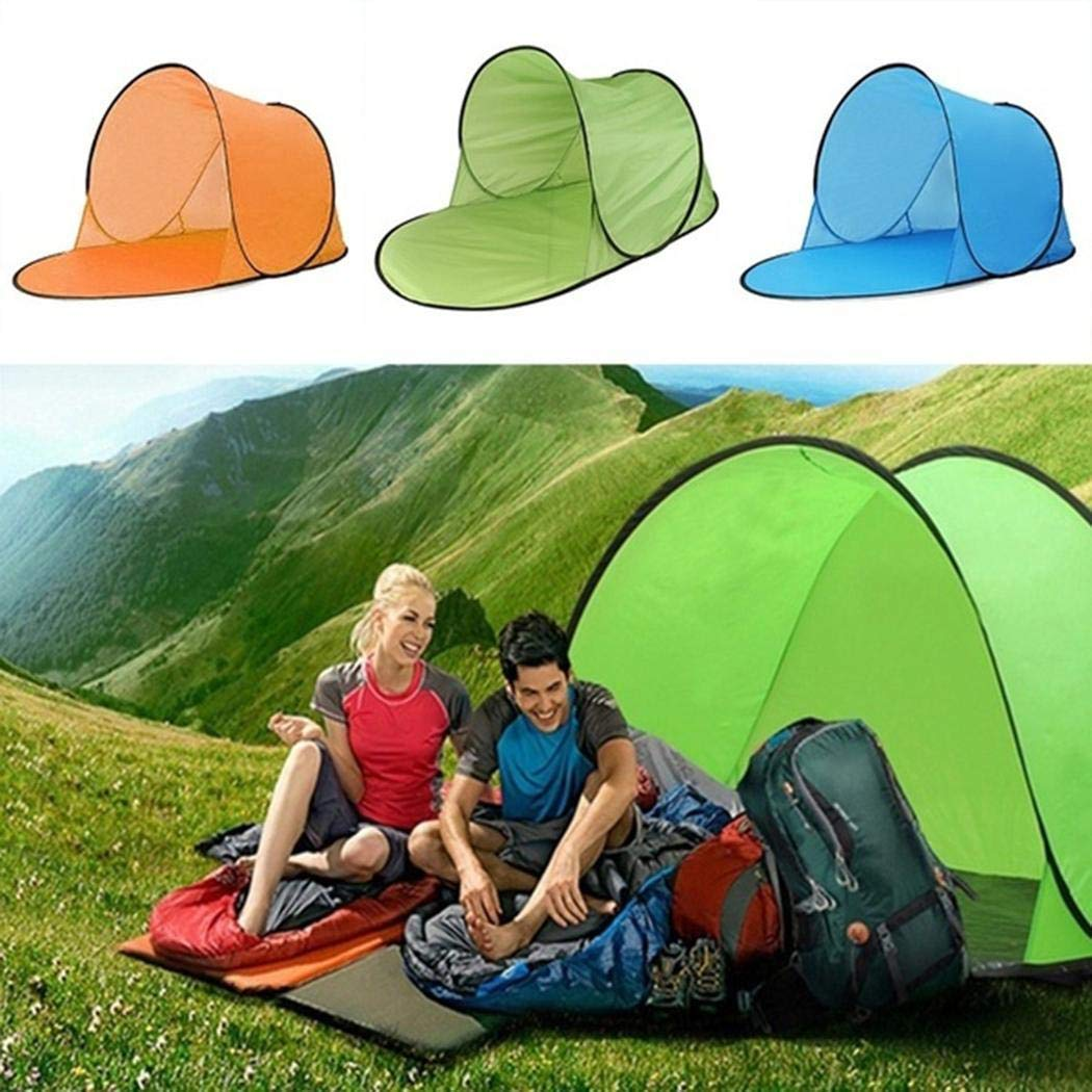 Zouvo Outdoor Beach Camping Tent Waterproof Sun Shelters UV Protection Tent Family Camping Tents