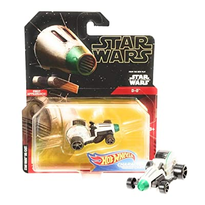 Star Wars Hot Wheels Character Cars 1:64 - D-0: Toys & Games