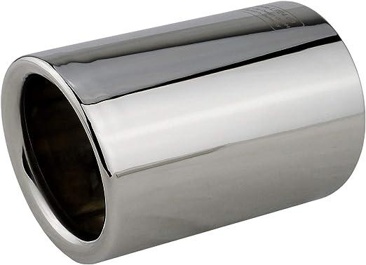 L P A302 1 Auspuffblende 70mm Edelstahl Spiegel Poliert Chrom Silber Plug Play Endrohrblenden Endrohrblende Auspuff Blende Endrohre Oem 18307610636 18307610635 18307610634 Auto