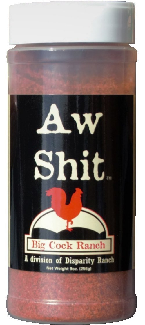 Aw Shit Hot n' Spicy Seasoning from Big Cock Ranch