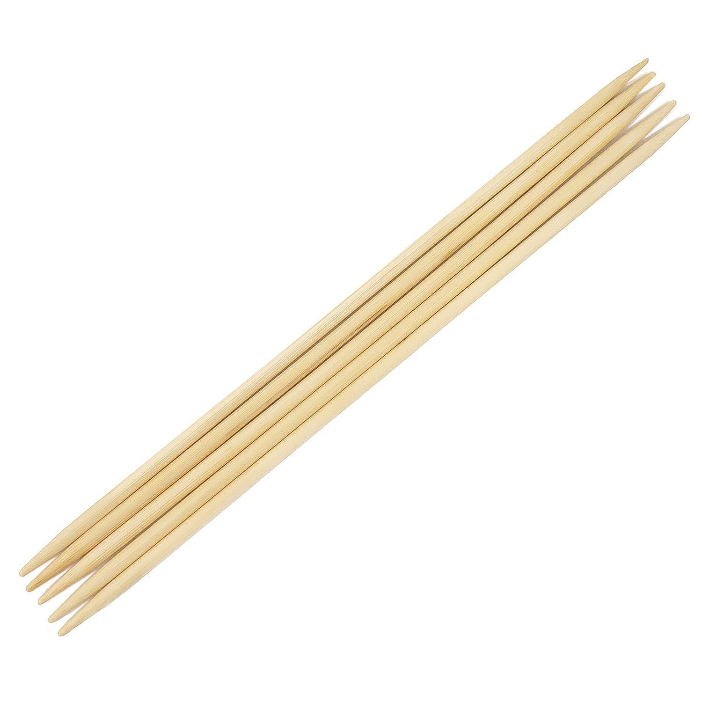 Bambus Nadelspiel Strumpfstricknadeln Gr.5,5 20cm Sockenstricknadel Stricknadel
